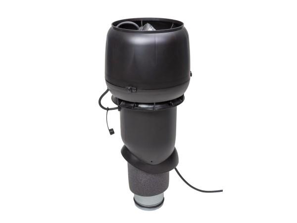 Крышный вентилятор VILPE E190Р/125/500 вентилятор с шумопоглотителем