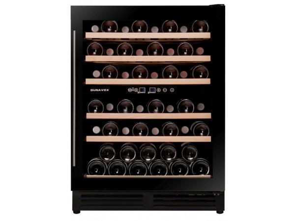 Винный холодильник Dunavox DX-51.150DBK/DP
