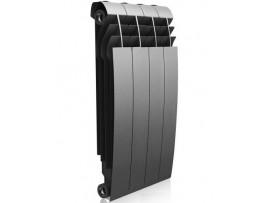 Радиатор Royal Thermo BiLiner 500 (4 секции) серый