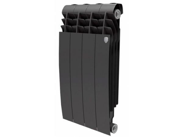 Радиатор Royal Thermo BiLiner 500 (4 секции) черный