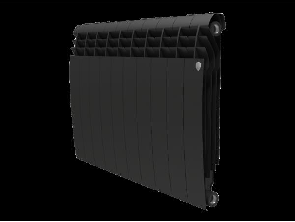 Радиатор Royal Thermo BiLiner 500 (8 секций) черный