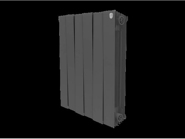 Радиатор Royal Thermo Piano Forte 500 (8 секций) черный