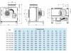 Кухонный вентилятор SALDA KF T120 280-4 L3